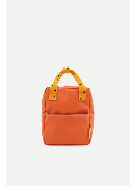 Sticky Lemon Backpack small freckles | carrot orange + sunny yellow + candy pink
