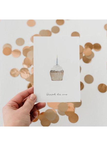 EULENSCHNITT Card CAKE