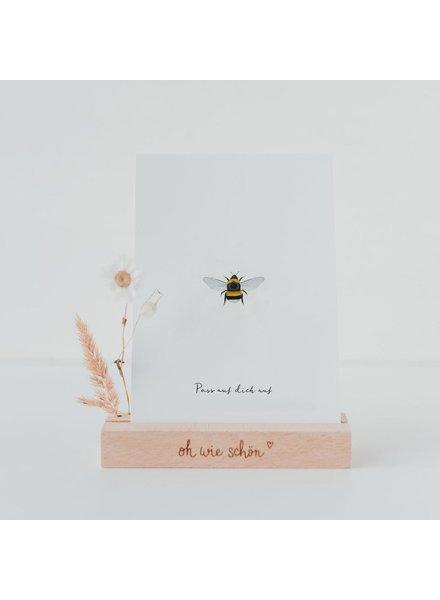 EULENSCHNITT Card BEE