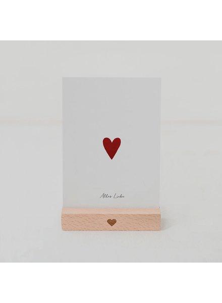 EULENSCHNITT Card HEART