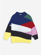 Bobo Choses Multi color block knitted jumper