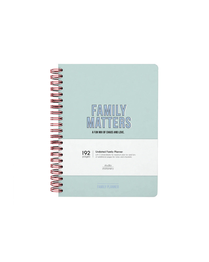 Studio Stationery Family Planner - Family Matters