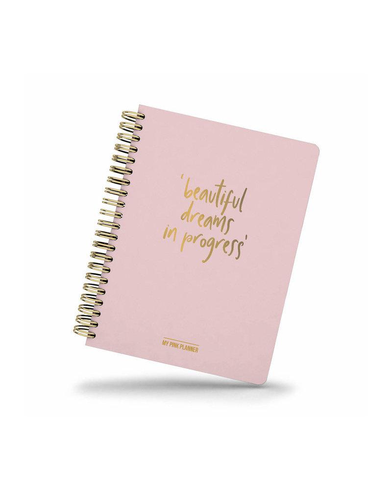 Studio Stationery My Pink Planner - Beautiful dreams in progress