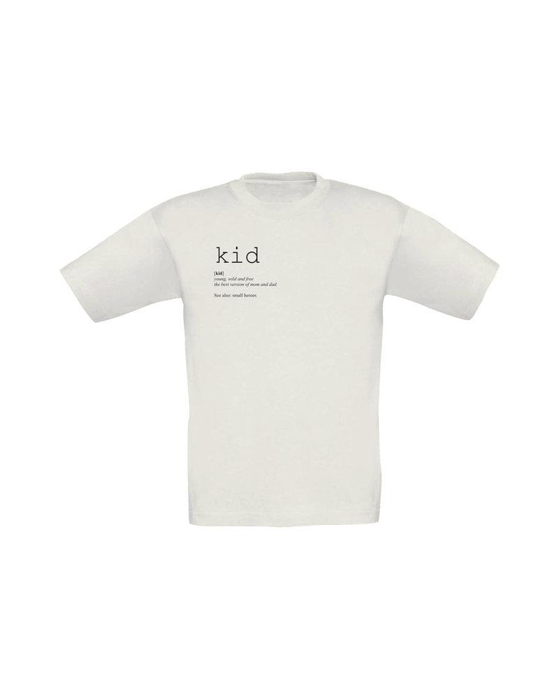 Small Heroes KID T-Shirt - white