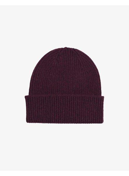 Colorful Standard Merino Wool Beanie - Oxblood Red