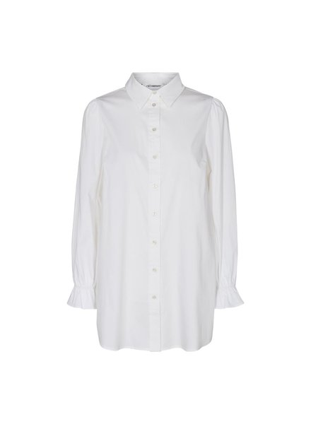 co'couture SANDY Frill Cuff Shirt - white