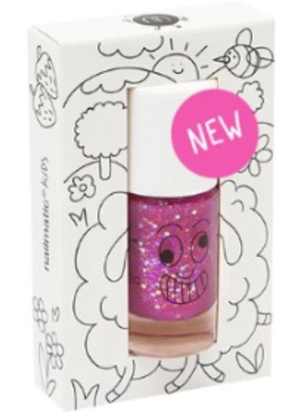 Nailmatic Kindernagellack Sheepy - Lilac Glitters