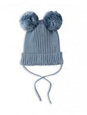 Mini Rodini Ear Hat - Blue