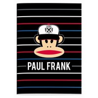 Schrift Paul Frank stripes A4 geruit