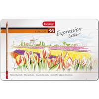 Kleurpotloden in blik Expression: 36 stuks