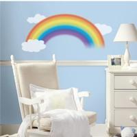 Muursticker RoomMates: Over the Rainbo