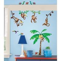 Muursticker RoomMates: Monkey Business