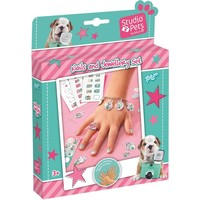 Nails and jewellery set Studio pets ToTum