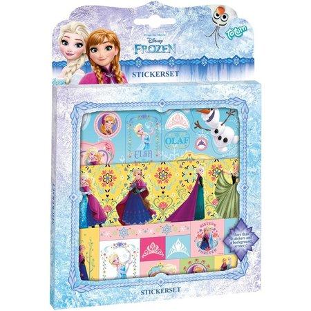 Frozen Sticker set Frozen ToTum: 45 stickers