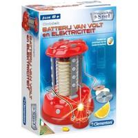 De Batterij Van Volt en Elektriciteit Clementoni