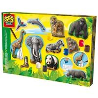 Figuren gieten en schilderen SES: dieren