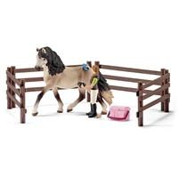Andalusische paardenverzorgingsset Schleich