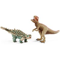 Schleich Saichania en Giganotosaurus 41426 - Speelfiguur - Dinosaurs - 17,2 x 19,5 x 16,7 cm