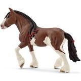 Schleich Clydesdale Merrie 13809 - Paard Speelfiguur - Farm World - 16,1 x 4,7 x 12 cm
