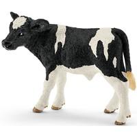 Schleich Zwartbond kalf 13798 - Koe Speelfiguur - Farm World - 7,5 x 3,8 x 5 cm