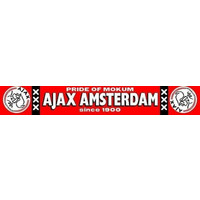 AJAX Amsterdam Sjaal ajax rood mokum logo