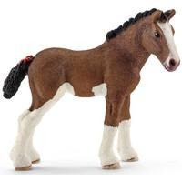Schleich Clydesdale veulen 13810 - Paard Speelfiguur - Farm World - 8,3 x 3,7 x 7,9 cm
