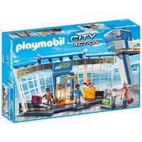 Luchthaven met verkeerstoren Playmobil