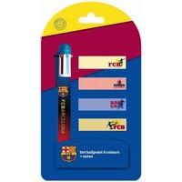 Pen barcelona met blaadjes: 6-kleuren