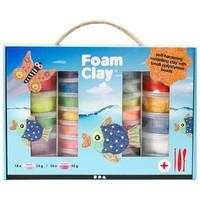 Foam Clay Creotime megaset: 10x35/18x14 gram