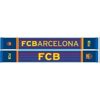 Sjaal barcelona rood/blauw stripes
