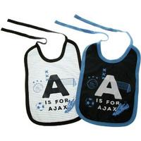 Slabbetjes ajax 2-pack blauw: A is for Ajax