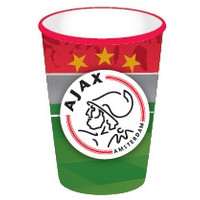 AJAX Amsterdam Bekers ajax 250 ml: 8 stuks