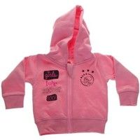 AJAX Amsterdam Baby sweatvest ajax roze: girls love soccer