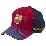 Cap barcelona rood/blauw senior: soccer