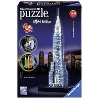 Puzzel Chrysler Building Night 3d: 216 stukjes