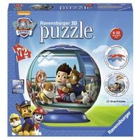Puzzel Paw Patrol 3d: 72 stukjes