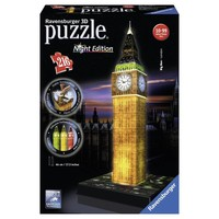 Puzzel Big Ben Night 3d: 216 stukjes