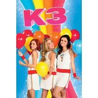 K3 Poster ballonnen 40x50 cm