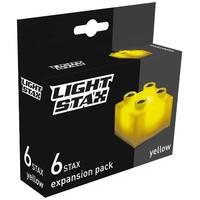 Uitbreiding Light Stax junior: geel 6 stuks 2x2