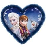 Frozen Disney Frozen Kussen Frozen Elsa en Anna 33x33 cm