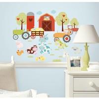 Muursticker Roommates: Happi Barnyard 25x45 cm