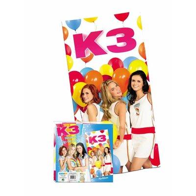 K3 K3 Strandlaken -  76x152 cm