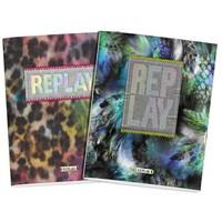 Schrift Replay Girls 3-pack A5 gelijnd