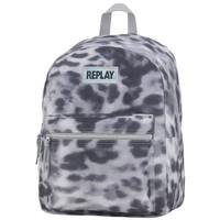 Rugzak Replay Girls leopard grey 41x30x16 cm
