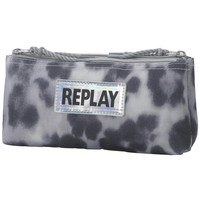 Etui Replay Girls leopard grey 10x21x6 cm