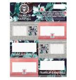 Franklin & Marshall Etiketten Franklin Marshall 18 stuks