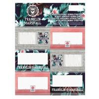 Etiketten Franklin Marshall 18 stuks