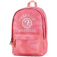 Rugzak Franklin Marshall pink 43x30x18 cm