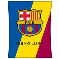 Plaid barcelona logo: 110x140 cm