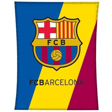 Barcelona FC Plaid barcelona logo: 110x140 cm